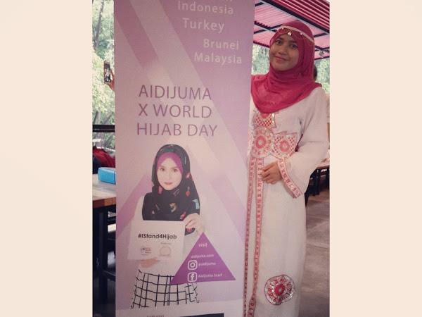 Aidijuma X World Hijab Day : Spread Love with Hijab