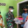 Peduli Pandemi Covid-19, Kodim Cilacap Bagikan 1500 Paket Sembako Gratis