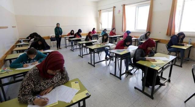 جدول امتحانات الثانوية العامة ( التوجيهي) 2020