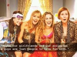 Greatest sexy quotes about friendship:may be our  girlfriend are soulmstes