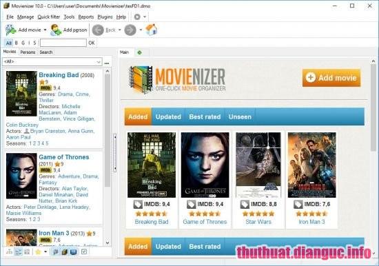Download Movienizer 10 Build 589 Full Crack, công cụ tổ chức phim mạnh mẽ, Movienizer 10, Movienizer 10 full crack, Movienizer 10 full key, Movienizer 10 free download,