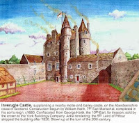 Image of Inverugie Castle.