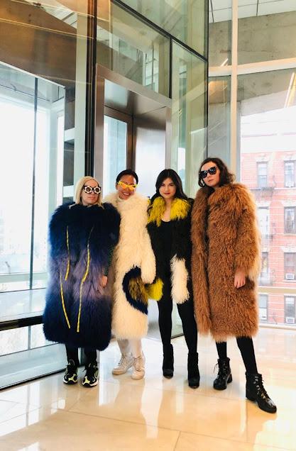 Kelly Fountain, Feel good fur, New York fashion week, nyfw, the James hotel NY