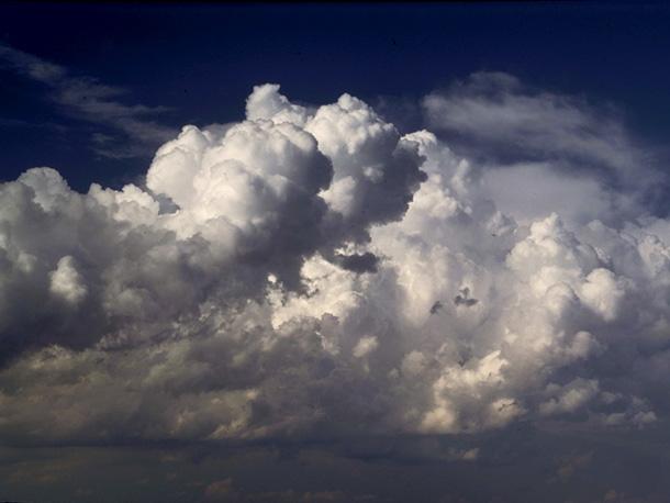 Lightning constantly striking inside a big cumulus ... |Cumulus Clouds Lightning