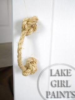 Lake Girl Paints Jute Rope Handles Easy To Make