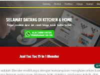 Jual Blender Tuc Tac, Smart Keuken , Oven ECOHOME Murah Terpercaya