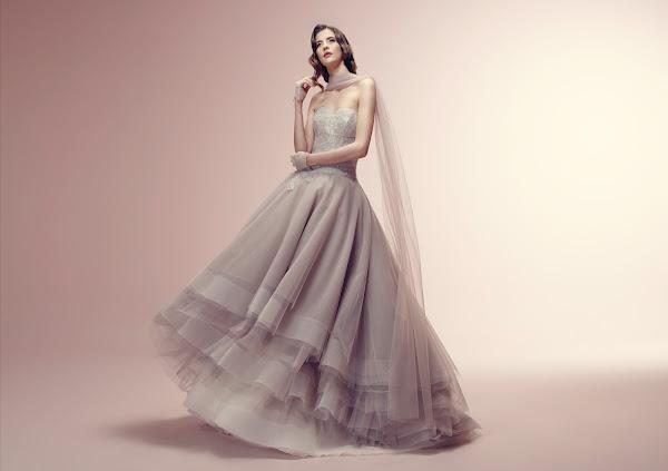 abiti da sposa colorati 2014, Alessandra Rinaudo