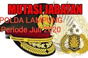 Gerbong Mutasi Kembali Terjadi di Lingkup Polda Lampung, 54 Perwira dan 102 Bintara Bergeser