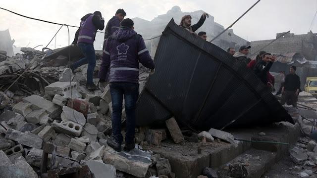 Ε.Ε.: Η ένταση στην Ιντλίμπ μπορεί να κλιμακωθεί σε μεγάλη διεθνή σύγκρουση