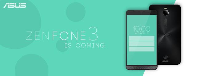 Konsep Smartphone Asus Zenfone 3 : RAM 5GB Dan Baterai 3.500 mAh