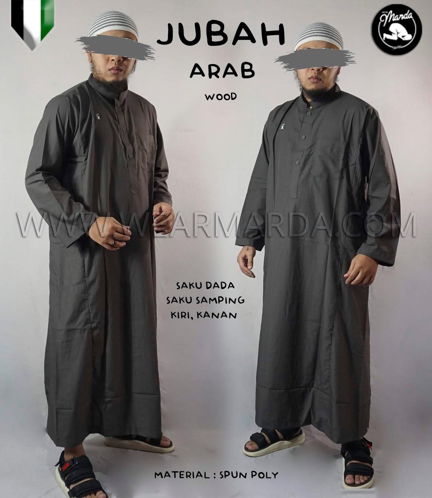 JUBAH ARAB WOOD