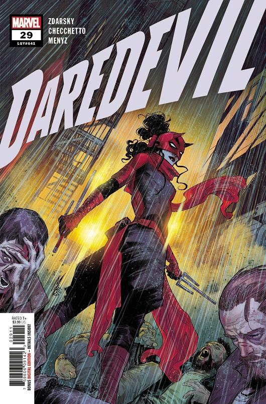 Cover of Daredevil #29