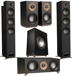 $449, Jamo S 809 5.0 Home Cinema Pack Black W/S 810 Subwoofer/S 81 Center/S 801 Black