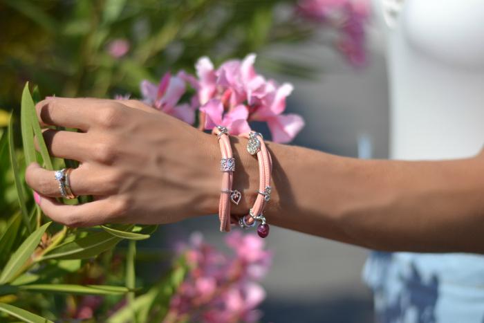 bracciale rosa endless