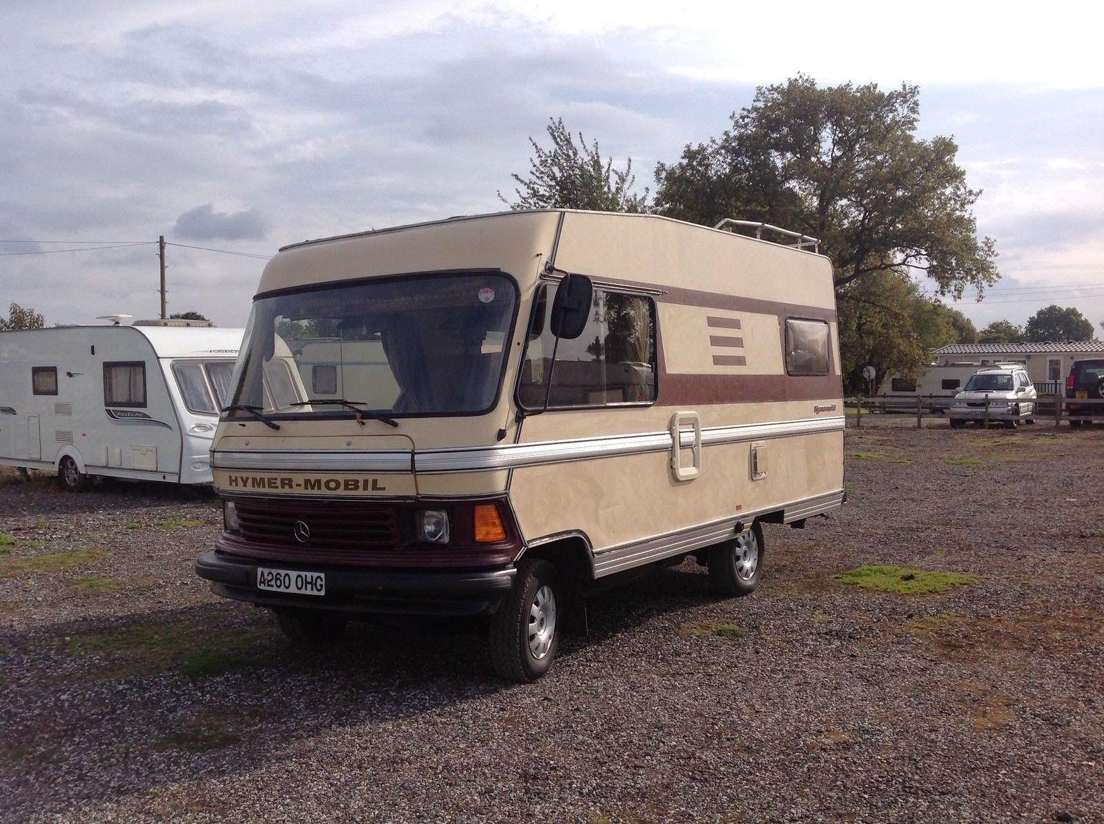 Ford Transit Rvs >> Used RVs 1983 Hymer Motorhome for Sale For Sale by Owner