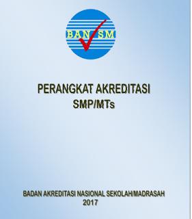 Perangkat Akreditasi SMP/ MTs 2017