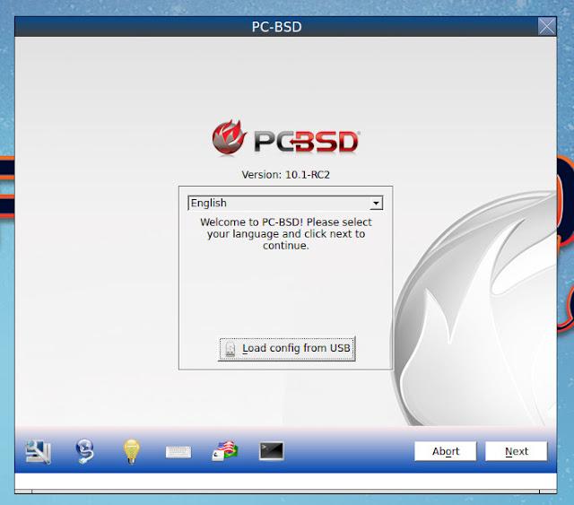 FreeBSD系OS、PC-BSDをインストール