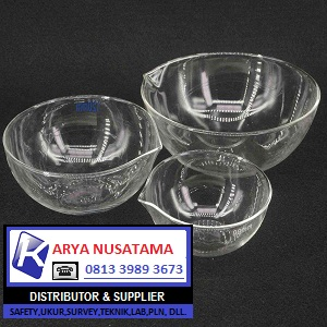 Jual Evavorating Dish Glass Flat Botton 60, 90, 120, 150mm di Batam