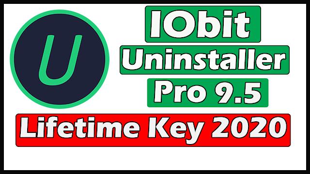 Download IObit Uninstaller Pro 9.5 With Lifetime Key 2020