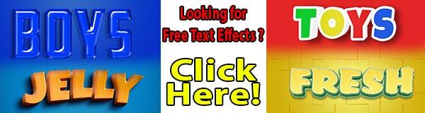 Text Effect PSD