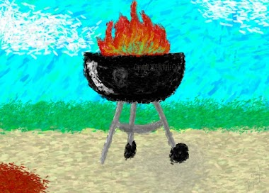 Short Story: A Good Day for Grilling by Kayla Cook