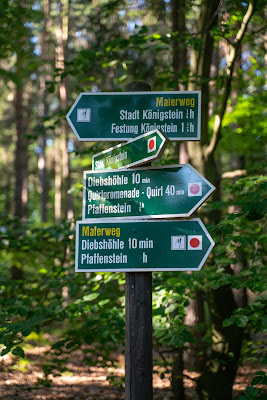 Malerweg Etappe 7 | Von Kurort Gohrisch bis Weißig | Wandern Sächsische Schweiz | Pfaffenstein – Festung Königstein 19