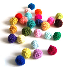 DIY little crochet balls