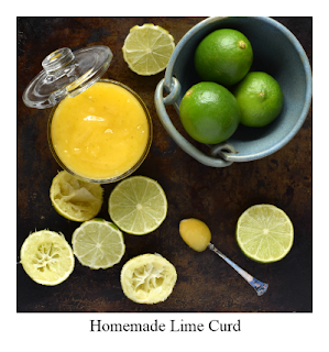 This lime curd recipe is a delicious alternative to lemon curd.   The curd is easy to make and is perfect spread on a round of toast or included in a number of bakes.