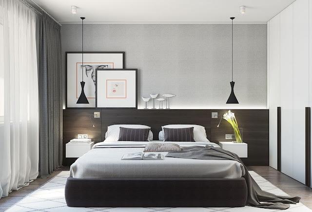 ห้องนอน Modern Minimal