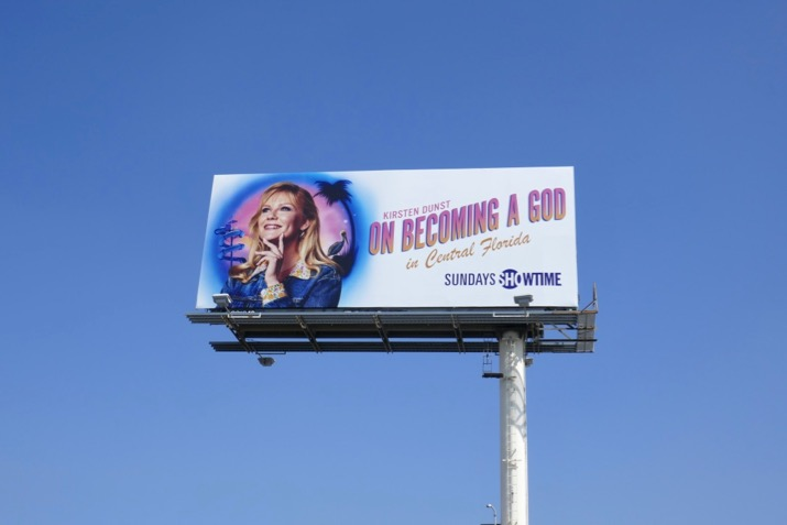 On Becoming a God billboard