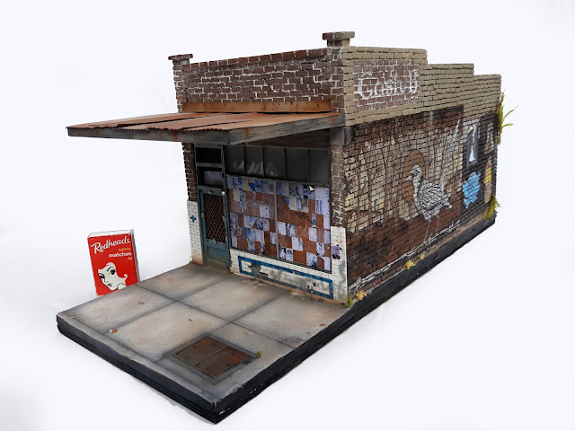 Miniature artwork - Old Butchers Shop Kingsville