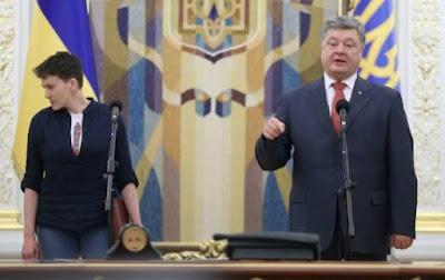 Савченко написала Трампу, что Порошенко — самый коррумпированный президент в истории Украины