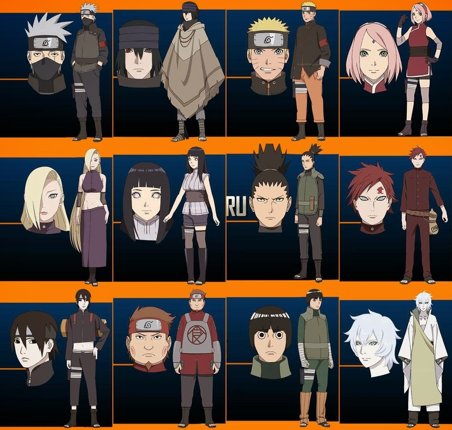 Character the last naruto movie
