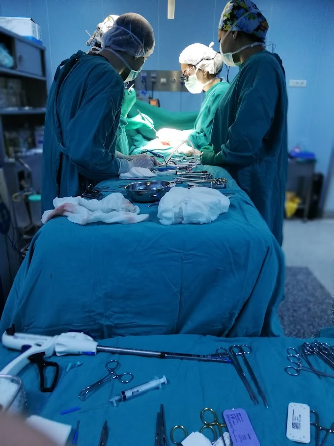 Ameliyat Sırasında Hastanın Bakımı