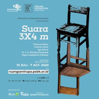 pameran online suara 3 x 4 m