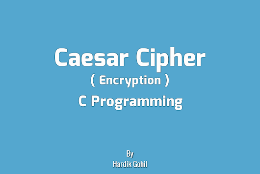 ceaser cipher program in c A caesar cipher is a simple method of encoding messages caesar ciphers use a substitution method where letters in the alphabet are shifted by some fixed number of spaces to yield an encoding alphabet.