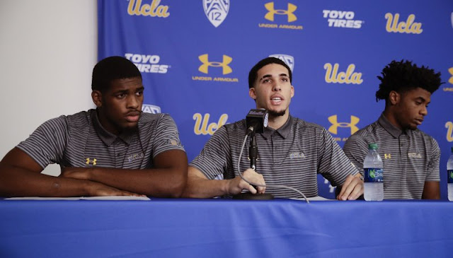 3 UCLA basketball players suspended