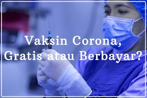 Vaksin Corona, Gratis atau Berbayar?