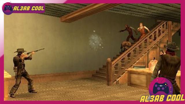 تحميل لعبة Gun Showdown لأجهزة psp لمحاكي ppsspp من الميديا فاير