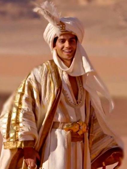 Figurino principe Ali