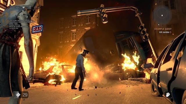 شاهد بالفيديو إعادة تصميم مرحلة من لعبة Resident Evil 2 على شكل مود في لعبة Dying Light ، شيئ رائع جدا …