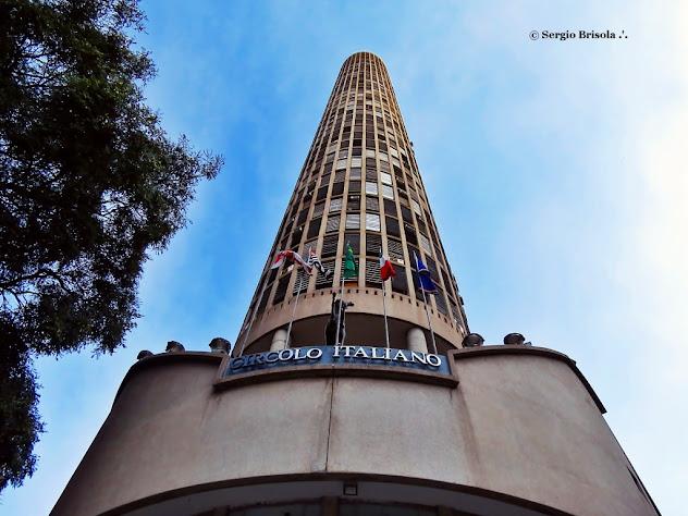 Perspectiva inferior da fachada do Edifício Itália - Circolo Italiano - Centro - São Paulo