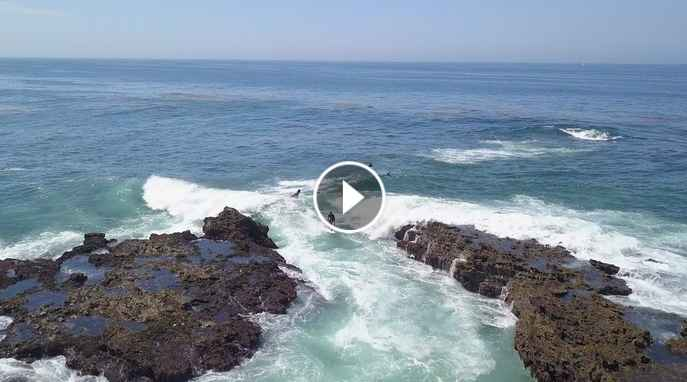 Dylan Graves Wyatt McHale Shama Beckford and Evan Mock Thread the Needle at a Sketchy OC Reef