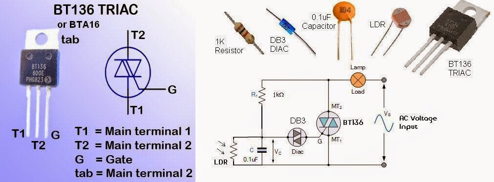 Photocell Lighting Control Wiring Diagram Tv Antenna Dusk To Dawn Switch Great Installation Of Circuits4you Com 0 1 Low Cost Simple Rh Blog Schematic