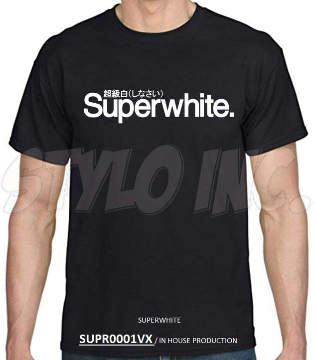 SUPR0001VX SUPERWHITE 超級白