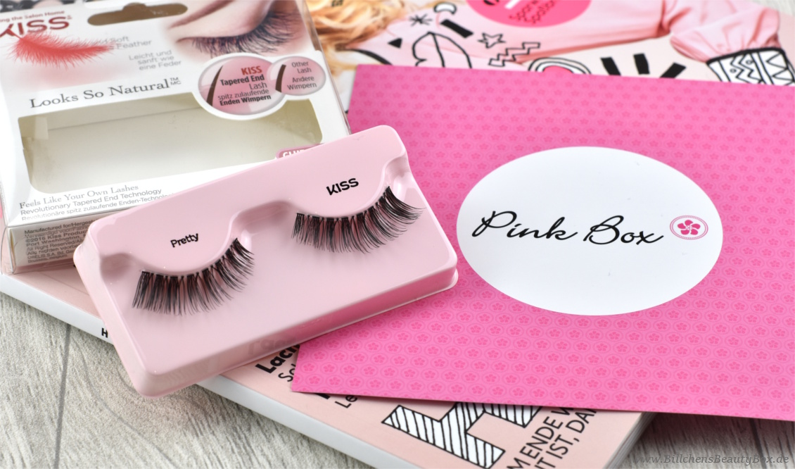 Pink Box FRIYAY - September 2017 - KISS Lashes / Wimpern