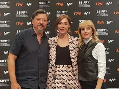 Carlos Bardem, Ruth Díaz y Natalia de Molina - Rueda de prensa de Adiós
