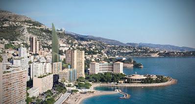 Perspective 3d aérienne concours Monaco
