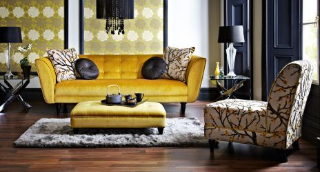 A Black Lounge Chair With Mustard Throw Pillow Would Look Fabulous Hope You Are Inspired By Some Of The Home Decor Pictures Below Its New Year