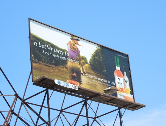 Vita Frute better way find fresh ingredients billboard